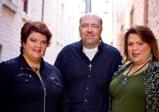 (RNS) Mary Anne Hewett, Greg McCaw and Chasity Scott are the members of Micah's Rule. RNS photo courtesy Micah's Rule.