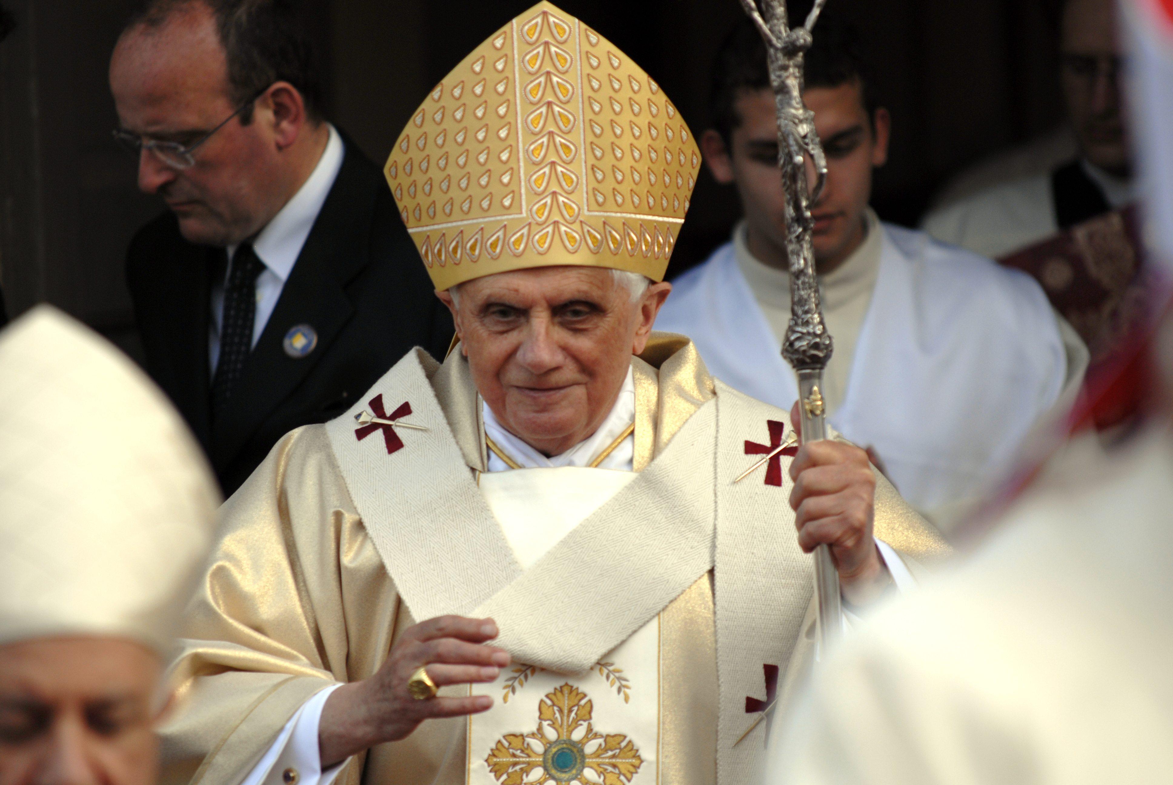Pope Benedict Shutterstock copy