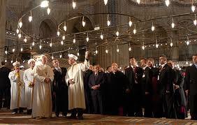 Pope Benedict Sultanahmet