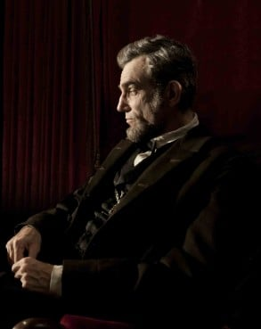 Daniel Day Lewis as Lincoln in the film 'Lincoln'.  RNS photo courtesy David James/Disney-DreamWorks II.