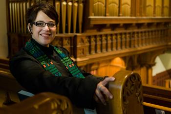 The Rev. Amy Butler, senior pastor at Calvary Baptist Church, Washington, D.C.