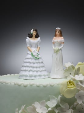 Owners of a Portland, Ore., bakery that refused to sell a wedding cake to a lesbian couple are now fighting court-ordered damages. Photo via Shutterstock