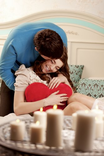 "Image of ""happy couple in love"" via Shutterstock http://shutr.bz/VUCZKE"