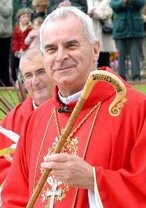 Cardinal Keith O'Brien of St. Andrews and Edinburgh, Scotland. Wikimedia photo courtesy Gavin Scott.