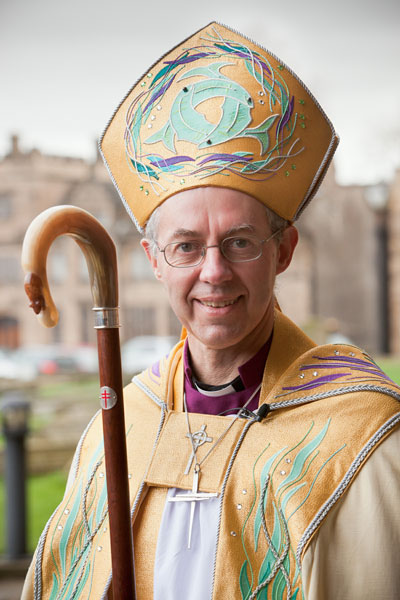 Non catholics greet pope francis with guarded optimism religion justin welby bishop of durham was named the 105th archbishop of canterbury rns photo courtesy durham cathedral m4hsunfo