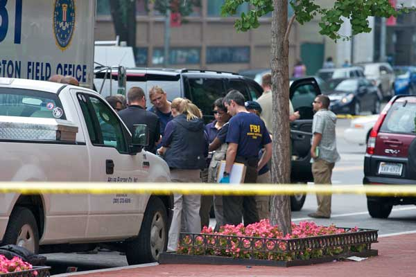 A security guard is recovering after he was shot Aug. 15 in the headquarters of the Family Research Council, a conservative Christian lobbying group. RNS photo by Chris Lisee