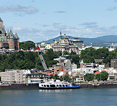 Panorama of Quebec City from Levis.  RNS photo courtesy Wikimedia Commons (http://bit.ly/X6Q33A)