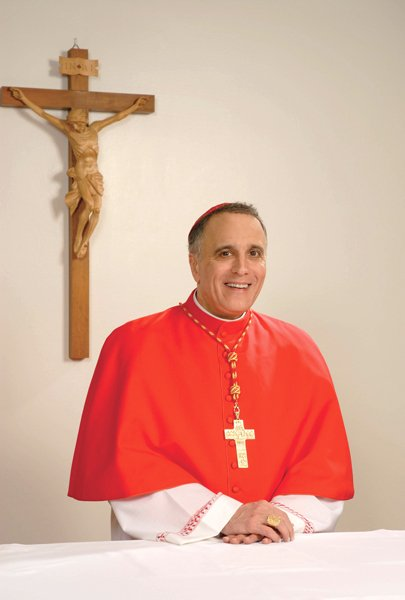 Daniel N. DiNardo, archbishop of Galveston-Houston, Texas Age: 63 Born: May 23, 1949 in Steubenville, Ohio Education: Catholic University of America, Duquesne University (Pittsburgh) Ordained a priest: 1977 in Pittsburgh Posts held: coadjutor bishop of Sioux City, Iowa (1997-1998); bishop of Sioux City, Iowa (1998-2004); coadjutor archbishop of Galveston-Houston (2004-2006); archbishop of Galveston-Houston (2006-present) Elevated to cardinal: 2007 by Pope Benedict XVI (RNS photo courtesy Archdiocese of Galveston-Houston)