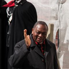 Cardinal John Onaiyekan (Nigeria).  Photo by michael_swan via Flickr (http://flic.kr/p/e2rh8u)