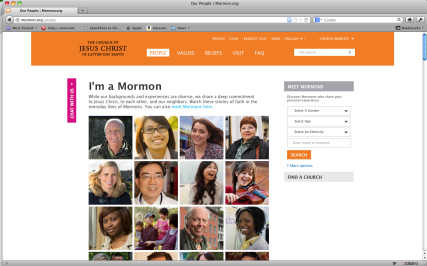 "The ""I'm a Mormon"" campaign isn't just the LDS Church's calling card to the world. It's becoming an important tool for Mormons to define themselves and their community."