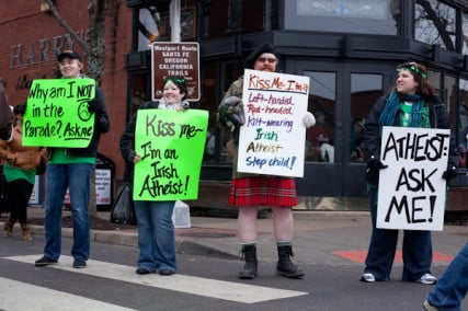 atheist parade