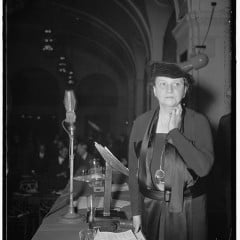 Frances Perkins, a champion of the working poor and the first woman to serve in a White House cabinet. RNS photo courtesy Library of Congress