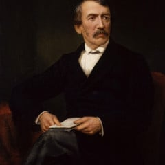 As Britain marks David Livingstone's 200th birthday (pictured here) on Tuesday (March 19), Christians are being reintroduced to one of the greatest missionaries and explorers of the 19th century.  Photo courtesy Wikimedia Commons/National Portrait Gallery in London