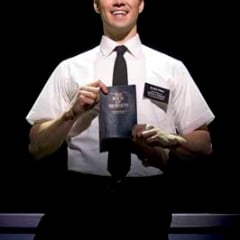 """""""The Book of Mormon,"""" opens on March 24. Somewhat surprisingly, the satirical musical is getting rave reviews from Mormons.  Religion News Service photo by Joan Marcus."""