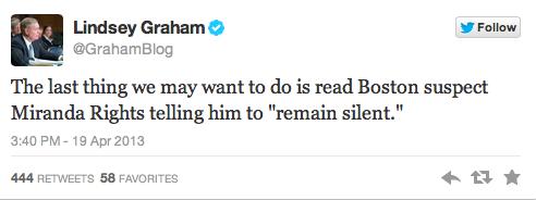 Lindsay Graham Twitter