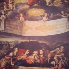 Burial of Jesus, Oil paint of Giovanni Battista.  Photo courtesy Wikimedia Commons (http://bit.ly/YOvmd0)