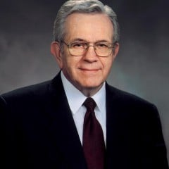 Boyd Packer, the leader of the Quorum of Twelve Apostles for the Church of Jesus Christ of Latter-day Saints, died July 3. RNS photo courtesy LDS Church