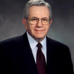 Boyd Packer is the leader of the Quorum of Twelve Apostles for the Church of Jesus Christ of Latter-day Saints. RNS photo courtesy LDS Church