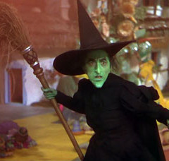 "Margaret Hamilton in ""The Wizard of Oz,"" via Wikipedia."