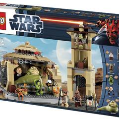 Jabba's Palace Lego set. Photo from Lego: http://bit.ly/W17vVz
