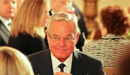 Bill Hybels, pastor of Willow Creek Community Church in South Barrington, Ill., was one of about 150 religious leaders at the White House Easter Prayer Breakfast on Friday (April 5, 2013). RNS photo by Adelle M. Banks