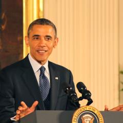 President Obama speaks at the White House Easter Prayer Breakfast on Friday, April 5. RNS photo by Adelle M. Banks