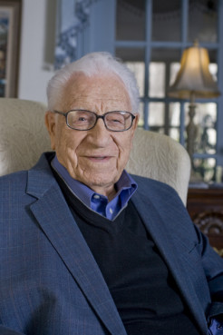 Grammy-winning gospel singer George Beverly Shea (pictured here in 2008) has died at 104 – a life as full as it was long for the man behind the booming voice that for decades rang out at Billy Graham's crusades, and then years after Graham stopped holding big public events. Photo courtesy Billy Graham Evangelistic Association