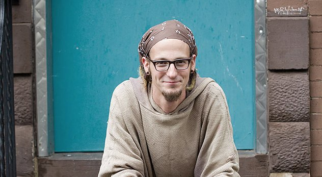 "Shane Claiborne is a leading advocate for a growing expression of faith called ""red letter Christianity"" - Image courtesy of Thomas Nelson"
