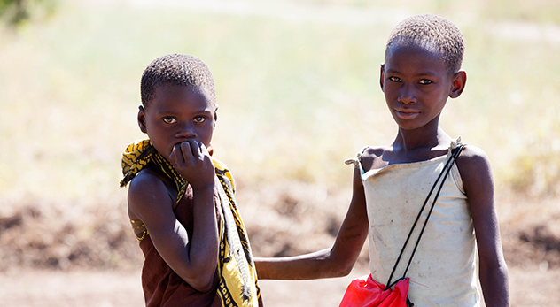 Among children in Malawi under five years old, 63 percent are anemic and nearly half are stunted according to USAID - image courtesy of Clive Mears, Tearfund