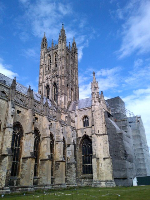 Church of England leaders are displeased with a new report calling for more official recognition of other religious and secularism in UK public life. Photo of Canterbury Cathedral courtesy by Trevor Grundy for RNS.