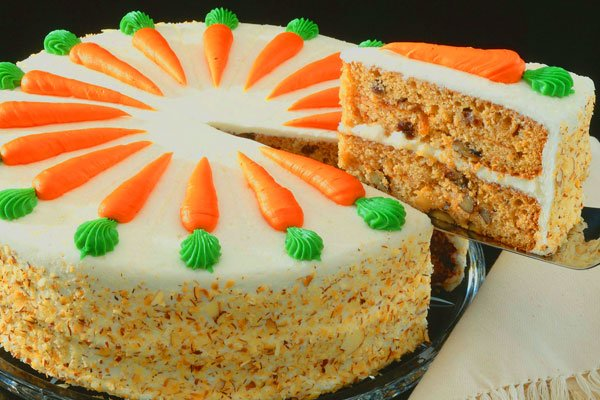 Carrot Cake For One Person