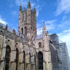 England's best-known cathedral and mother church of the 77 million-member worldwide Anglican Communion will stay open to the public despite the fact that two-thirds of the historic building is in urgent need of repair. Photo by Trevor Grundy