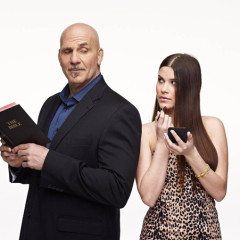 """It is so much harder to be a preacher's kid,"" said Kolby Koloff (pictured here with her father), 16, one of the daughters featured in the Lifetime series ""Preachers' Daughters."" Photo courtesy Lifetime"