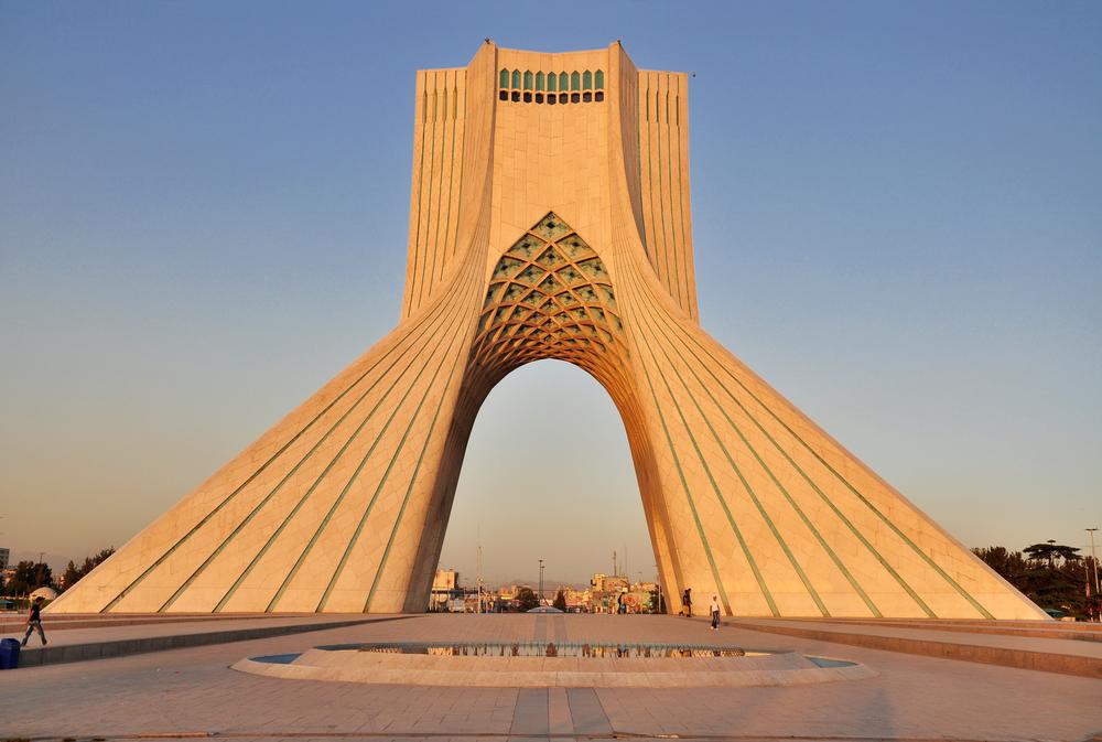 Azadi (Shahyad) in Tehran from Shutterstock