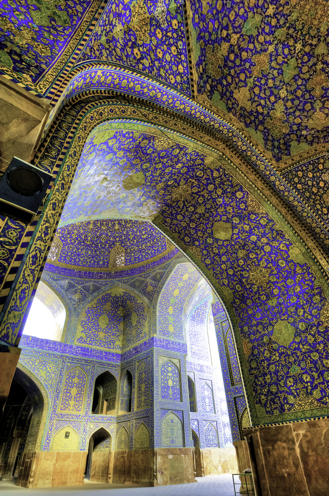 Isfahan mosque from Shutterstock