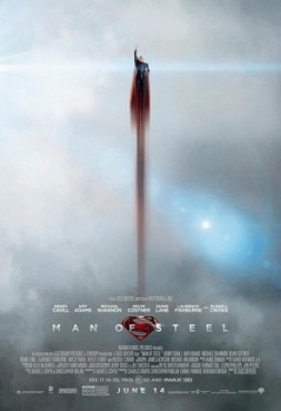 "Official ""Man of Steel"" poster via Wikipedia http://en.wikipedia.org/wiki/File:ManofSteelFinalPoster.jpg"