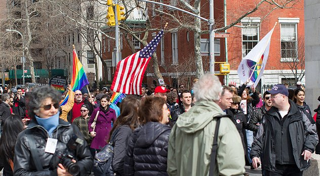 Supreme Court votes 5-4 to strike down DOMA. Christian leaders offer a range of responses. - Image courtesy of Phil Davis NY (http://bit.ly/15Gv6ML)