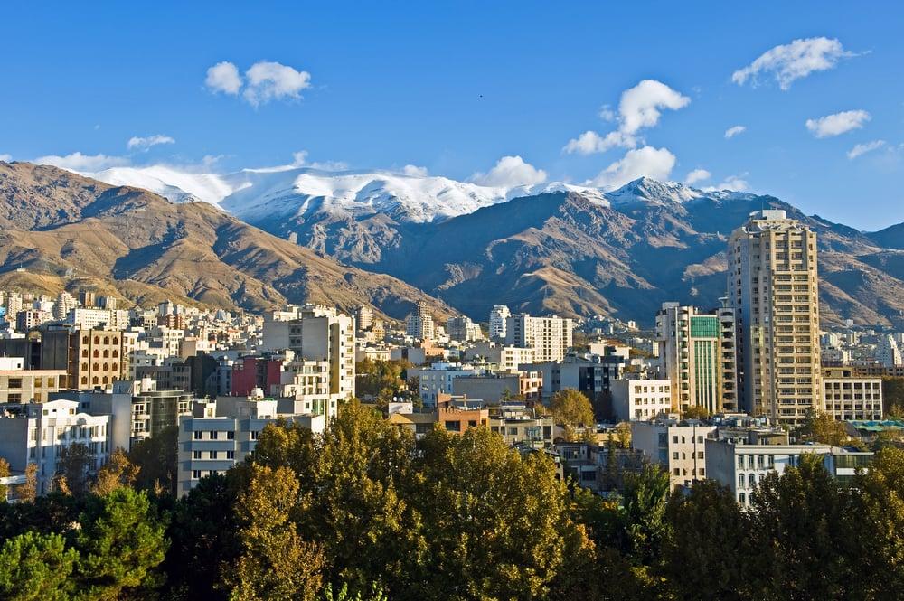 Tehran from Shutterstock