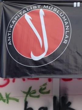 Anti-Capitalist Muslims at Gezi Park.