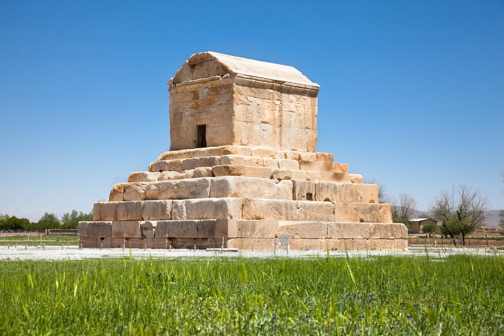Tomb of Cyrus the Great, from Shutterstock