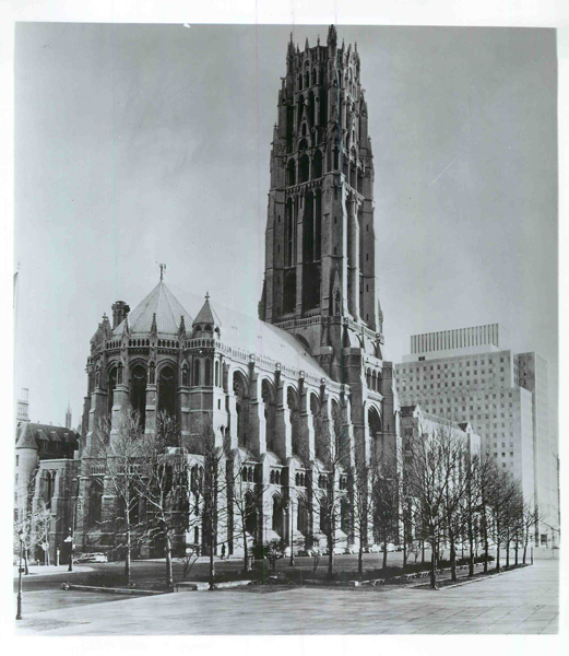 Riverside Church in New York City, located on Riverside Drive and 120th Street near Columbia University  where Harlem and the Upper West Side meet. According to the church's website, the 20-floor tower houses the largest turned bell in the world. Religion News Service file photo