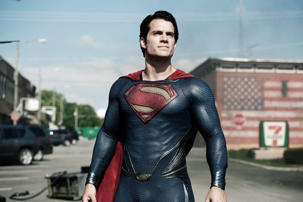 """Henry Cavill as Superman in Warner Bros. Pictures' and Legendary Pictures' action adventure """"MAN OF STEEL,"""" a Warner Bros. Pictures release. Photo by Clay Enos/courtesy Warner Bros. Pictures"""