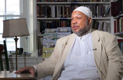 Imam Dayaiee Abdullah is said to be the only gay imam in North America. Photo by Krista Kapralos