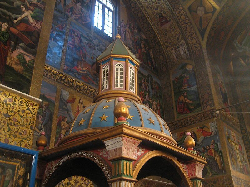 vank cathedral in Isfahan from Wikipedia