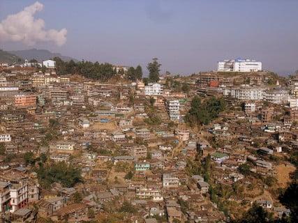 Photo of Kohima in Nagaland courtesy rajkumar1220 via Flickr
