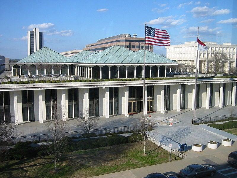 North Carolina State Legislature courtesy Wikipedia