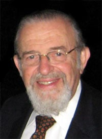 Rabbi Dr. Norman Lamm photo courtesy Folksonomy via Wikimedia Commons
