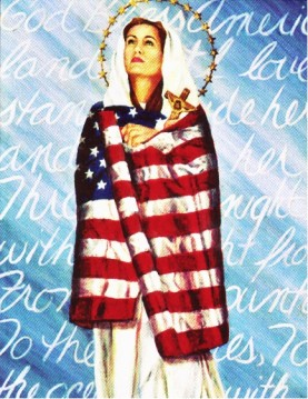 A Star-Spangled Virgin Mary via the Tablet of Brooklyn.  http://thetablet.org/religious-freedom-under-siege/