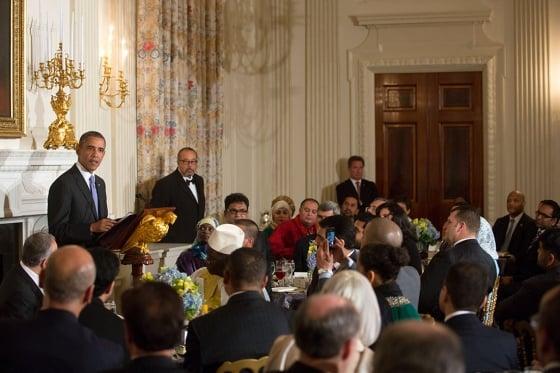 President Obama hosting Ramadan iftar