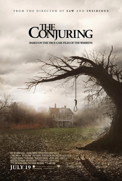 "Film poster of ""The Conjuring"" courtesy Grace Hill Media/Warner Brothers"